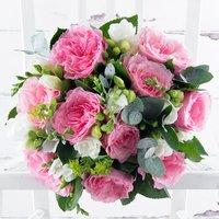 Garden Rose & Freesia & Laurent Perrier