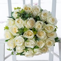 Luxury White Roses