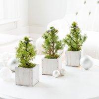 Mini Christmas Tree Trio