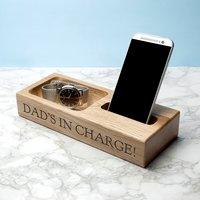 Personalised Oak Technology Stand