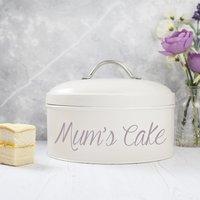 Personalised Cake Tin - Cream