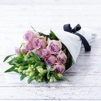 Lilac Rose & Alstro Cut Flowers & Chateau Civrac Wild White