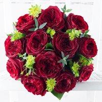 Red Garden Roses & Monte Lagares Rioja