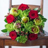 Sumptuous Orchid & Laurent-Perrier Rose