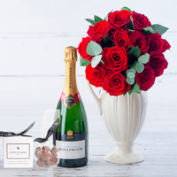 The Opulent Red Rose Gift Set