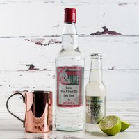 Personalised Vodka Moscow Mule Gift Set