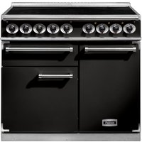 Falcon F1000DXEIBL/C F1000 Deluxe Induction Range Cooker - BLACK