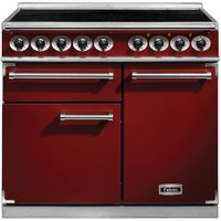 Falcon F1000DXEIRD/N F1000 Deluxe Induction Range Cooker - RED