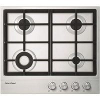 Fisher Paykel CG604DNGX1 60cm Gas Hob - STAINLESS STEEL