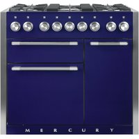 Mercury MCY1000DFBB 93190 100cm Dual Fuel Range Cooker - BLUEBERRY