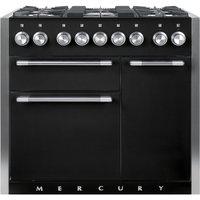 Mercury MCY1000DFLQ 93120 100cm Dual Fuel Range Cooker - LIQUORICE