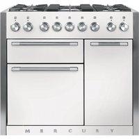 Mercury MCY1000DFSD 93170 100cm Dual Fuel Range Cooker - SNOWDROP