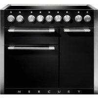 Mercury MCY1000EIAB 100cm Induction Range Cooker - BLACK