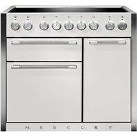 Mercury MCY1000EISD 100cm Induction Range Cooker - SNOWDROP