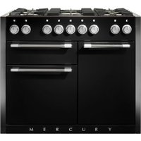 Mercury MCY1082DFAB 1082mm Dual Fuel Range Cooker - BLACK