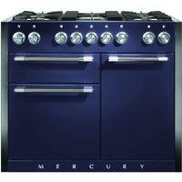 Mercury MCY1082DFBB 1082mm Dual Fuel Range Cooker - BLUEBERRY