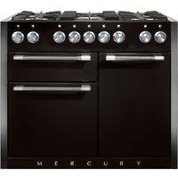 Mercury MCY1082DFLQ 1082mm Dual Fuel Range Cooker - LIQUORICE
