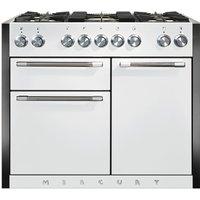 Mercury MCY1082DFSD 1082mm Dual Fuel Range Cooker - SNOWDROP
