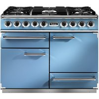 Falcon F1092DXDFCA/NM 1092 Deluxe Dual Fuel Range Cooker - BLUE