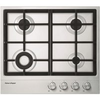 Fisher Paykel CG604DLPX1 60cm LPG Gas Hob - STAINLESS STEEL