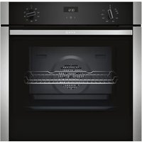 Neff B1ACE4HN0B N50 CircoTherm Single Oven - STAINLESS STEEL