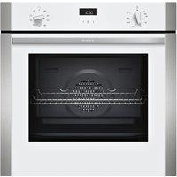 Neff B1ACE4HW0B N50 CircoTherm Single Oven - WHITE
