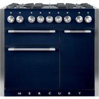 Mercury MCY1000DFIN 100cm Dual Fuel Range Cooker - INDIGO