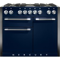 Mercury MCY1082DFIN 1082mm Dual Fuel Range Cooker - INDIGO