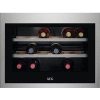 AEG KWE884520M 45cm Integrated In Column Wine Cooler - STAINLESS STEEL