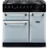 AGA Masterchef MDX90DFPAS Masterchef Deluxe 90cm Dual Fuel Range Cooker 122130 - PEARL ASHES