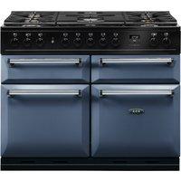 AGA Masterchef MDX110DFDAR Masterchef Deluxe 110cm Dual Fuel Range Cooker - DARTMOUTH BLUE