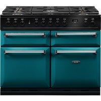AGA Masterchef MDX110DFSAL Masterchef Deluxe 110cm Dual Fuel Range Cooker - SALCOMBE BLUE