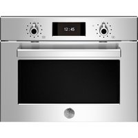 Bertazzoni F457PROMWTX Professional Series Built In Combination Microwave - STAINLESS STEEL