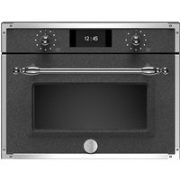 Bertazzoni F457HERMWTND Heritage Series Built In Combination Microwave - BLACK