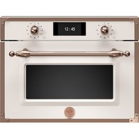 Bertazzoni F457HERVTAC Heritage Series Compact Steam Combination Oven - IVORY
