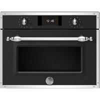 Bertazzoni F457HERVTNE Heritage Series Compact Steam Combination Oven - BLACK