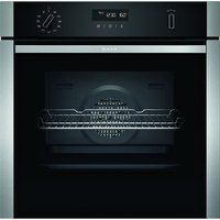 Neff B2ACH7HH0B N50 CircoTherm Pyrolytic Single Oven - STAINLESS STEEL