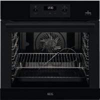 AEG BEB355020B Built In SteamBake Multifunction Single Oven - BLACK
