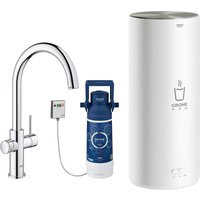 Grohe 30328001 Red Duo Instant Boiling Water Tap and L Size Boiler - CHROME