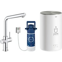 Grohe 30341001 Red Duo Instant Boiling Water Tap and M Size Boiler - CHROME