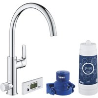 Grohe 30383000 Blue Pure Duo Filtered Water Tap - CHROME