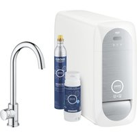 Grohe 31498001 Blue Home Mono Sparkling Water Tap - CHROME