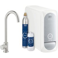 Grohe 31498DC1 Blue Home Mono Sparkling Water Tap - STAINLESS STEEL