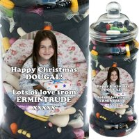 It's A Foot Of Sweets! Jumbo Personalised Liquorice Selection Jar