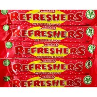 Strawberry Refreshers Chew Bars