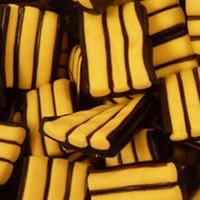 Banana Liquorice Stripes