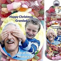 It's A Foot Of Sweets! Jumbo Personalised Penny Mix Selection Jar