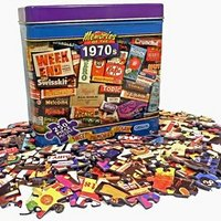 Sweets and Chocolates from the 70s Jigsaw