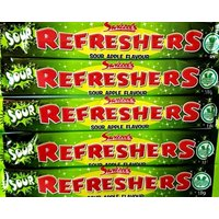 Sour Apple Refreshers Chew Bar