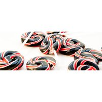 Black Jack Swirly Lollies - Lollies Gifts
